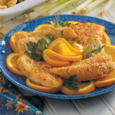 Marinated Orange Roughy
