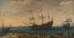 RIJKS: Hendrik Cornelisz. Vroom: painting 1630