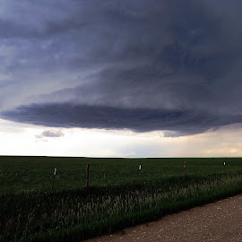 Storm Chasing in the Bigsky. by Dan Berry - Landscapes Weather