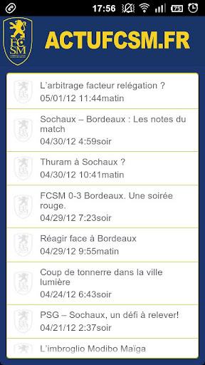 ActuFCSM.fr