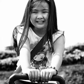 Bam by Ferdinand Ludo - Babies & Children Child Portraits ( bam bam, happy, west 35, seesaw, smiling )