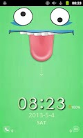 Screenshot of Long Tongue Screen Lock