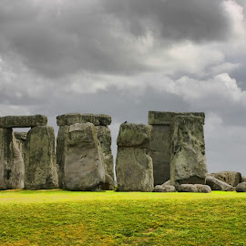 Stonehenge by Michael Rupp - Landscapes Travel ( england, europe, stonehenge, henge, stone, stone henge stonehenge england europe )