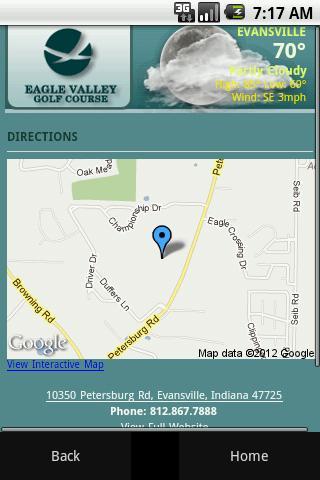 【免費旅遊App】Eagle Valley Golf Course-APP點子