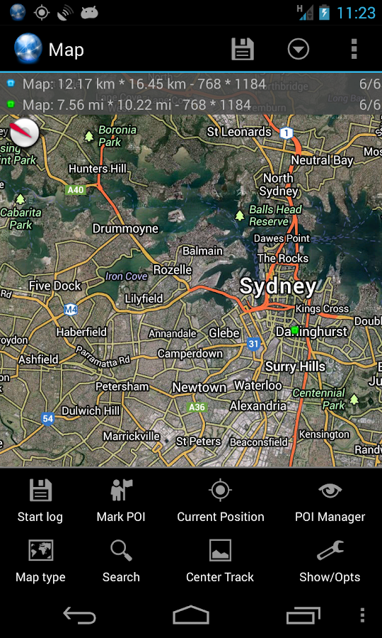 Ultra GPS Logger Screenshot 3