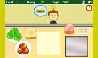 Screenshot of Sandwich Shop Free