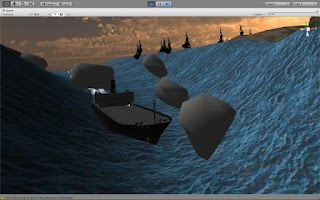 Screenshot of Speed Boat Racing