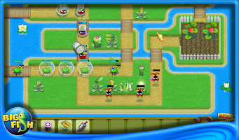 Screenshot of Garden Rescue