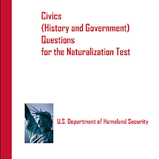 Naturalization Test Questions