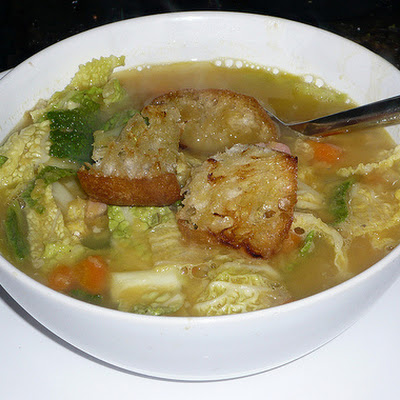 Gammon & Cabbage Soup
