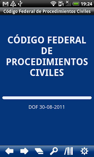 MX Fed. Code Civil Procedure