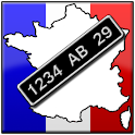 French Number Plates Free icon