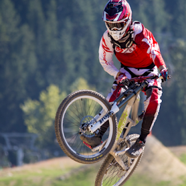 Whistler July 2014 by Trevor Bond - Sports & Fitness Cycling ( whistler, bike, downhill, mountain bike )
