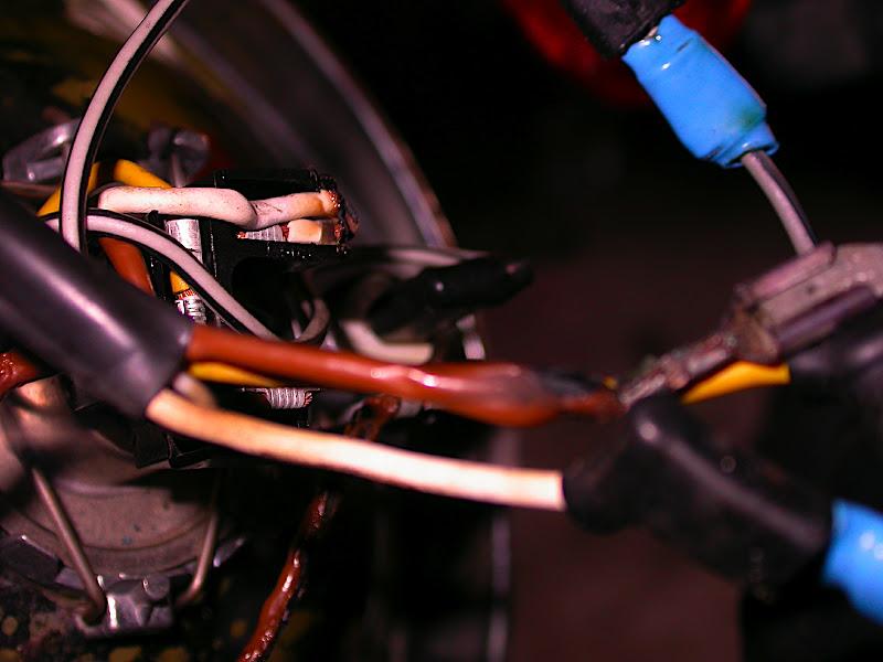 Melted wires in r headlight bucket adventure rider