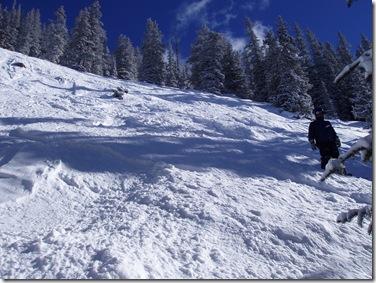 Matt in steeps