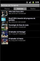 Screenshot of Noticias de Paraguay