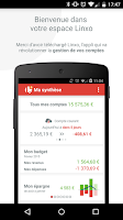 Screenshot of Linxo - mon budget, ma banque