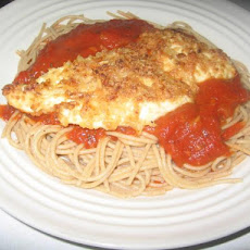 Italian Chicken With Garden Spaghetti
