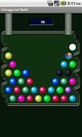 Screenshot of Hexagonal Balls free