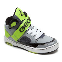 Geox Oracle Velcro Trainer HIGH TOP