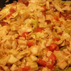 Hillbilly Salad With Cabbage