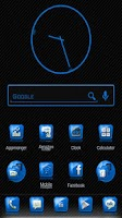 Screenshot of Slick Launcher Theme Blue