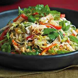 Vietnamese Chicken And Noodle Salad