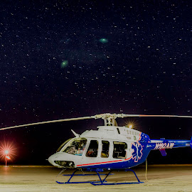 Stars of Life by Colin Conklin - Transportation Helicopters ( kcpr, helicopter, lifeflight, aviation, hems, casper, wyoming, emergency, paramedic, 911, wyoming life flight )