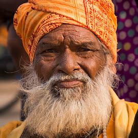 Brahmin by Rakesh Syal - People Portraits of Men (  )