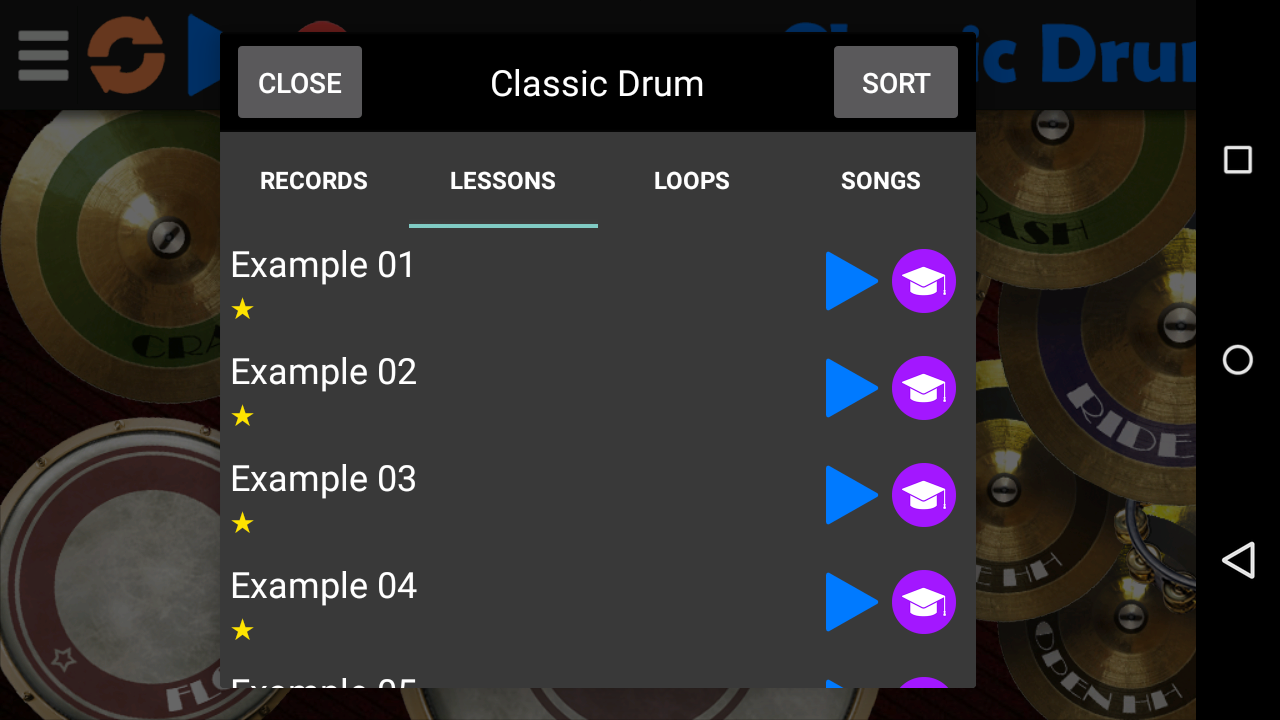 Classic Drum Screenshot 2