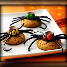 Spider Cookies (No Bake--For the Kids)
