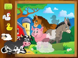 Screenshot of Animal Puzzle