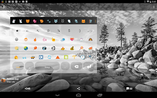 Screenshot of Emoji Keyboard Codec 2