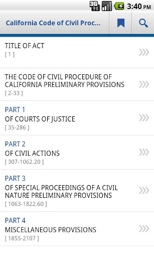 CA Code of Civil Procedure