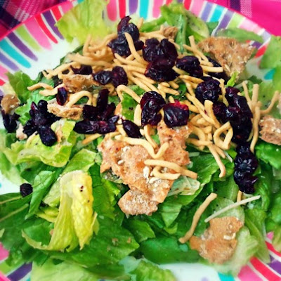 Blueberry Lemon Oat Salad