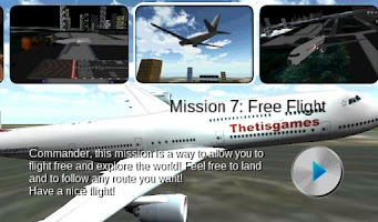 Screenshot of Flight Simulator Boeing Free