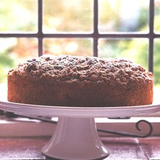 Spiced Apple Muffin Cake with Pecan Streusel Topping
