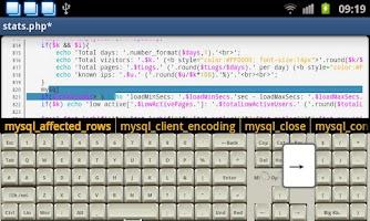 Screenshot of Programmer Keyboard