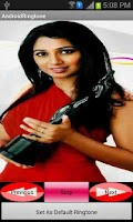 Screenshot of Shreya Ghoshal Hit Ringtones