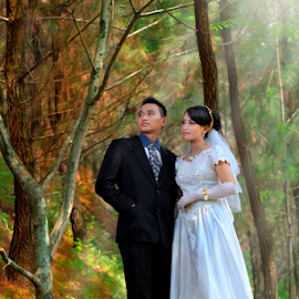 by Muhamad Anshorullah - Wedding Bride & Groom