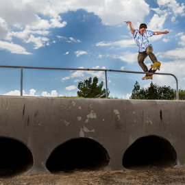 Joe by Pascal Puente - Sports & Fitness Skateboarding ( canon, skateboarding, skate, strobist, skateboard )