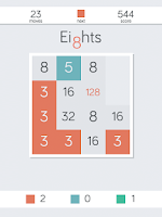 Screenshot of Eights!
