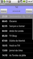 Screenshot of GuiaTV