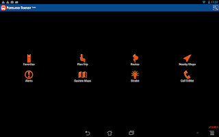 Screenshot of Portland Transit Lite