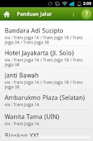 Screenshot of Trans Jogja