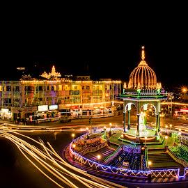 by Pavan Naidu - City,  Street & Park  Night