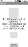 Screenshot of Fast Facts