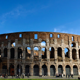 IL Colosseo by Miri Mirix - Buildings & Architecture Statues & Monuments ( colosseum, rome, monument,  )