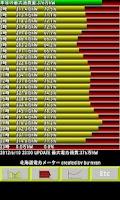 Screenshot of 北海道電力メーター