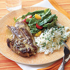 Lamb Chops with Tahini Sauce
